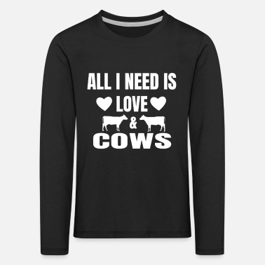 cow - Kids' Premium Longsleeve Shirt