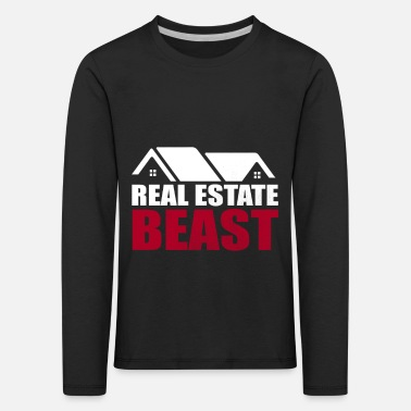 Real estate gift invest buy friend - Kids' Premium Longsleeve Shirt
