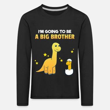 Brotherasurus Siblings brother Brothersaurus I gift - Kids' Premium Longsleeve Shirt