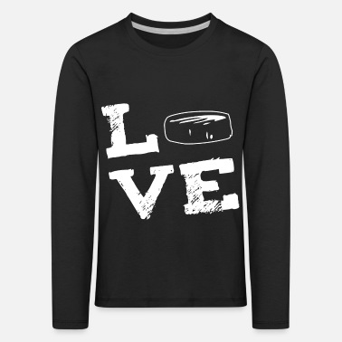 Freizeit LOVE - Hockey Eishockey - Kinder Premium Langarmshirt