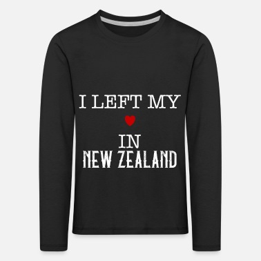 I Love Heart New Zealand Kids T-Shirt