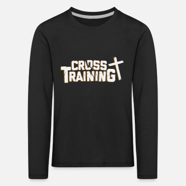 Training Cross Training - T-shirt manches longues premium Enfant