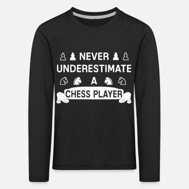 4f068acc5 Stendardo Stendardo di Springer Bauer del giocatore di scacchi che dice -  Maglietta maniche lunghe premium