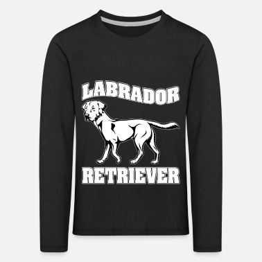 Newfoundland Labrador Retriever LABRADOR RETRIEVER dog pet - Kids' Premium Longsleeve Shirt
