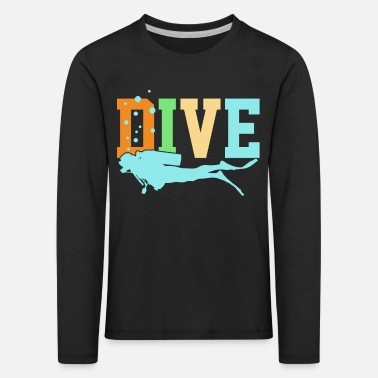 Diving Diving Diving - Kids' Premium Longsleeve Shirt