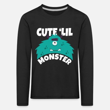 Monster Barn monster - Långärmad premium T-shirt barn