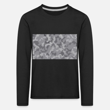 Camoflage Snow Camoflage Digitalized - Kids' Premium Longsleeve Shirt