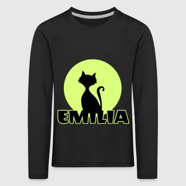 Emilia Name day first name personal gift - Kids' Premium Longsleeve Shirt