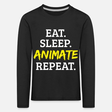 Animal Animation animate - Kids' Premium Longsleeve Shirt