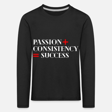 Monocle Cool motivation saying! - Kids' Premium Longsleeve Shirt