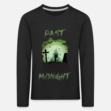 Creepy midnight - Kids' Premium Longsleeve Shirt