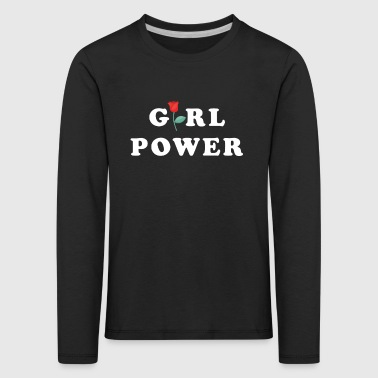 Girl Power Women's Gift Idea - Kids' Premium Longsleeve Shirt