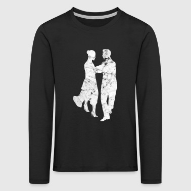 Ballerina Dancing couple dancing dancers couple - Kids' Premium Longsleeve Shirt