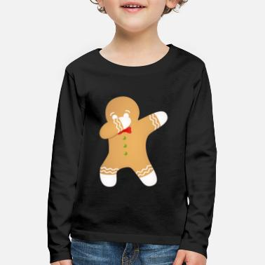 Noel Christmas Cookie - Dabbing Dab Dance Gift - T-shirt manches longues Premium Enfant