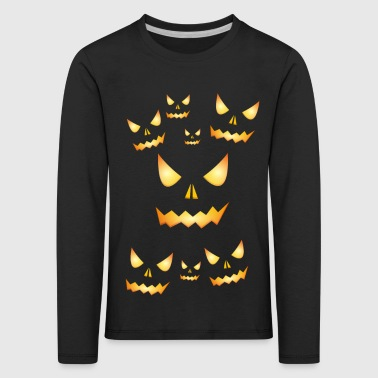 halloween design 01 - Kids' Premium Longsleeve Shirt