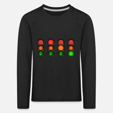 Traffic traffic light - Kids' Premium Longsleeve Shirt