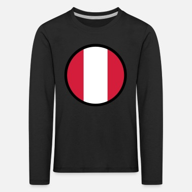 Under The Sign Of Peru - Kids' Premium Longsleeve Shirt