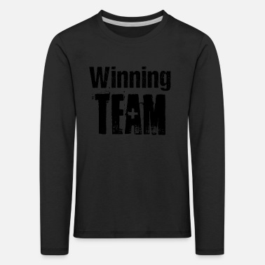 Competition Winning Team Teamplayer Competition Competition - Kids' Premium Longsleeve Shirt