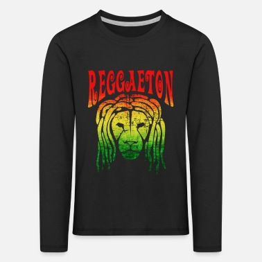 Graphic Art Reggaeton Graphic - Kinderen premium longsleeve
