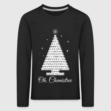 Chemistree christmas periodic table elements - Kids' Premium Longsleeve Shirt