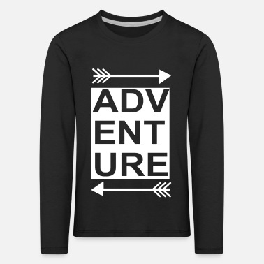 Outdoor Travel Adventure Nature - Kids' Premium Longsleeve Shirt