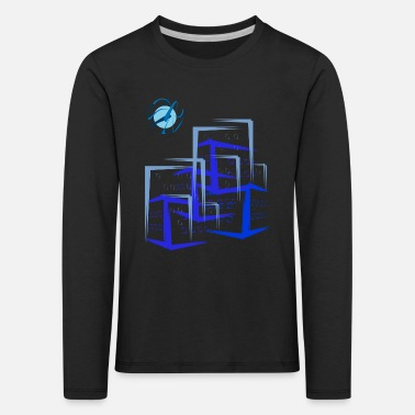 House Building Building apartment houses - Kids' Premium Longsleeve Shirt