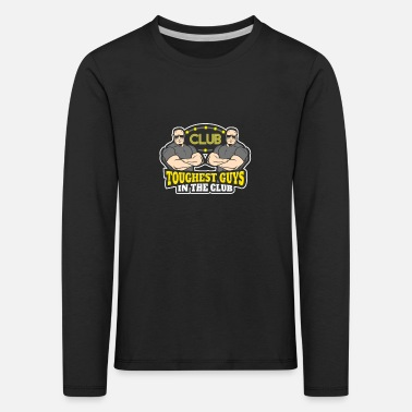 Disco Bouncers toughest guys in the club for bouncers - Kids' Premium Longsleeve Shirt