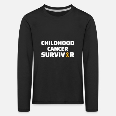 Childhood Childhood : Childhood Cancer Survivor - Kinder Premium Langarmshirt