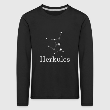 Hercules Hercules zodiac constellation night - Kids' Premium Longsleeve Shirt
