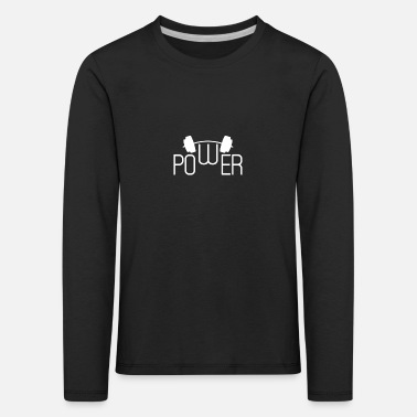 Strength Strength strength strength training gym - Kids' Premium Longsleeve Shirt