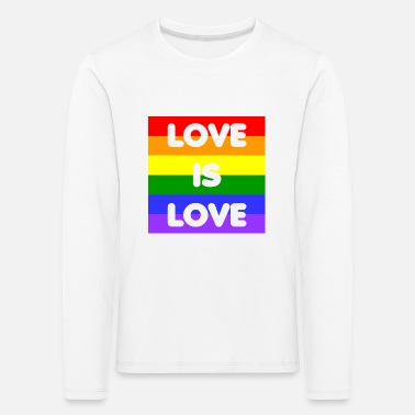 Love is Love - Kids' Premium Longsleeve Shirt