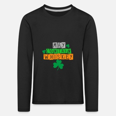Wiskey Wiskey Scotch Can Contain Whiskey - Kids' Premium Longsleeve Shirt