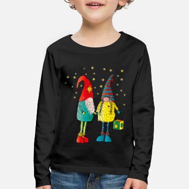 Weihnachtswichteln - Kids' Premium Longsleeve Shirt