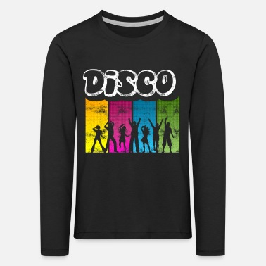 Disco Disco Queen 60s Party Music Club Dancing 70s - Kinderen premium longsleeve