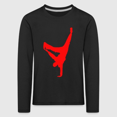break dance - T-shirt manches longues Premium Enfant