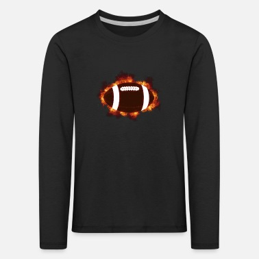 Evolution Rugby voetbalteam team fan cadeau idee - Kinderen premium longsleeve