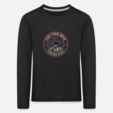 Militaria Death From Above - Kids' Premium Longsleeve Shirt