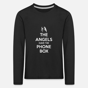 Box Angels phone box - Kids' Premium Longsleeve Shirt