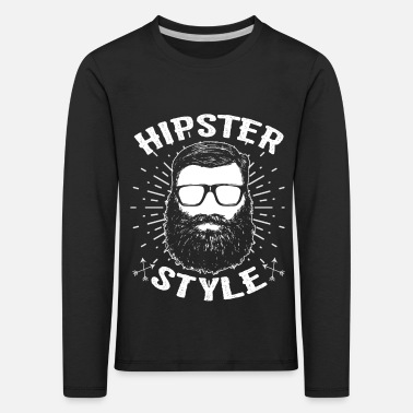 Hipster Hipster hipster - T-shirt manches longues premium Enfant