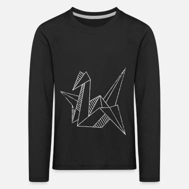 Origami hobbyist lage papir fan gave Vintage T skjorte for