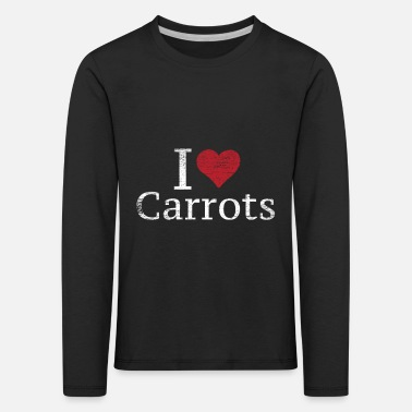Root Crop Carrots - Kids' Premium Longsleeve Shirt