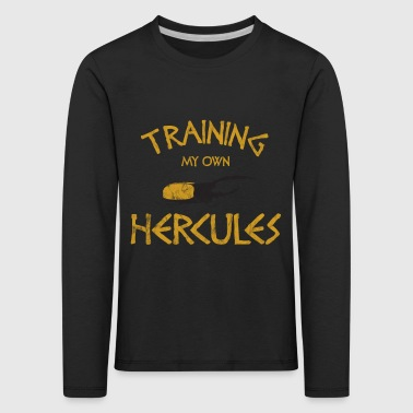 Insect - Training My Own Hercules - Kids' Premium Longsleeve Shirt