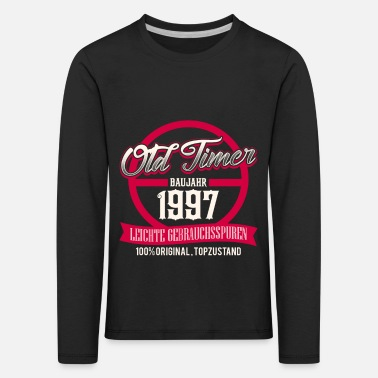 Production Year Vintage - year of production 1997 - top condition - DE - Kids' Premium Longsleeve Shirt