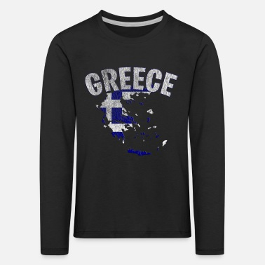 Greece - Kids' Premium Longsleeve Shirt