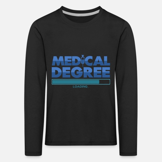 Doctor Long sleeve shirts - Medicine study - Kids' Premium Longsleeve Shirt black