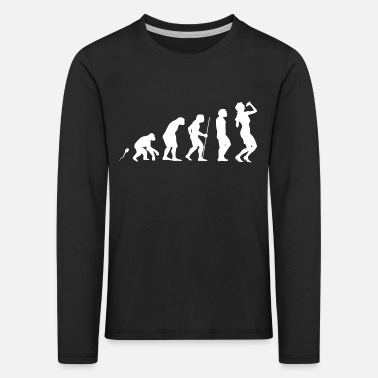 Gesang Gesang Evolution Fun Shirt - Kinder Premium Langarmshirt