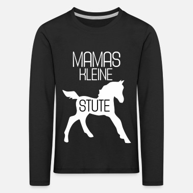 Mare Mare baby horse foal - Kids' Premium Longsleeve Shirt