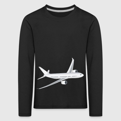 Airliner - Kids' Premium Longsleeve Shirt