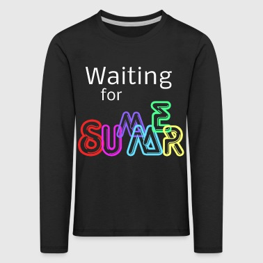 Waiting for Summer - Kids' Premium Longsleeve Shirt