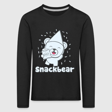 Snack bear / snack bear with hat - Kids' Premium Longsleeve Shirt